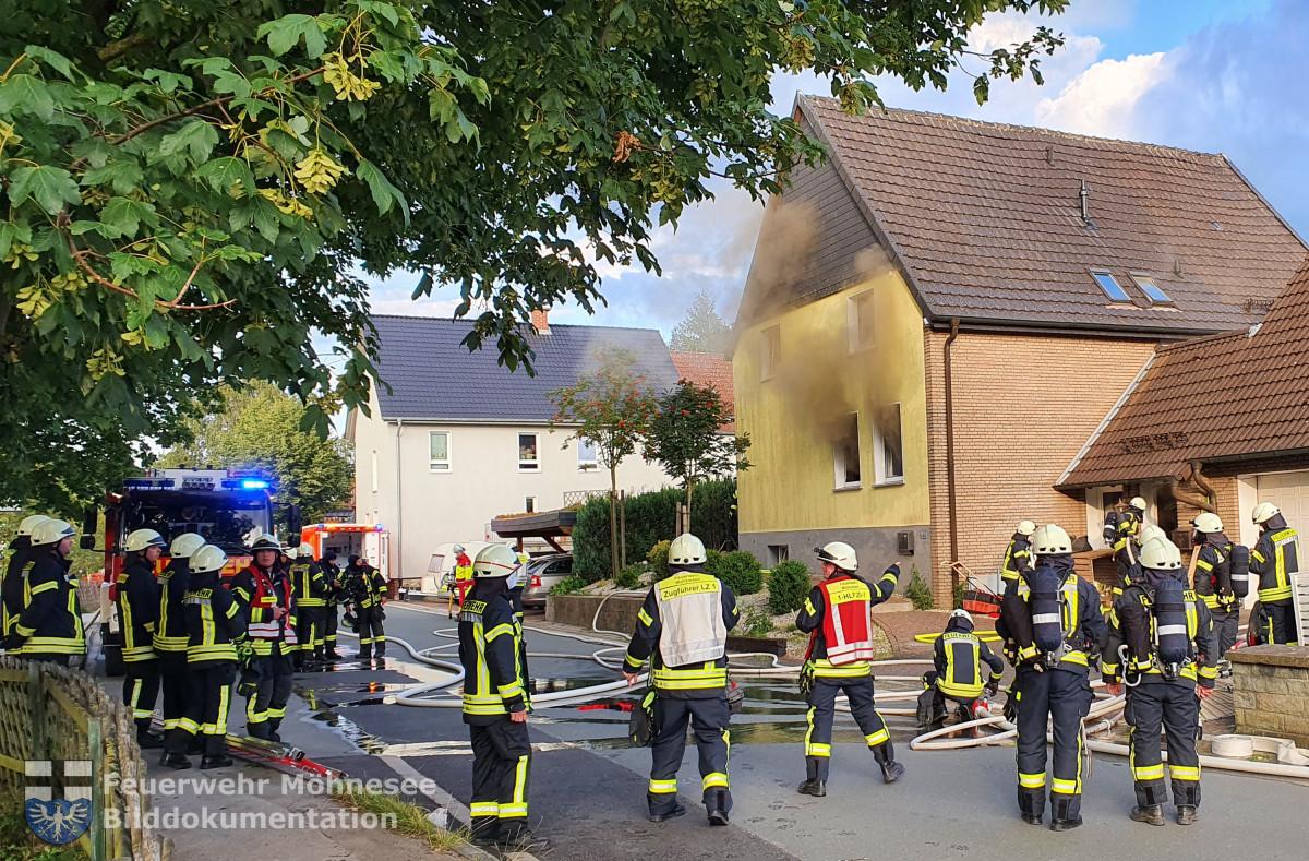 Brand 2 - Wohnungsbrand   26.07.20