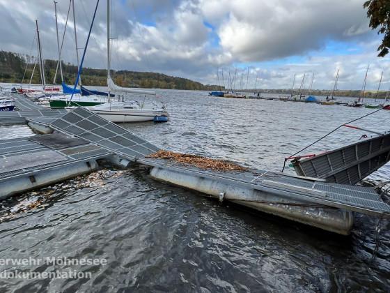Unwetter 1 - Sturmtief Ignatz | 21.10.21