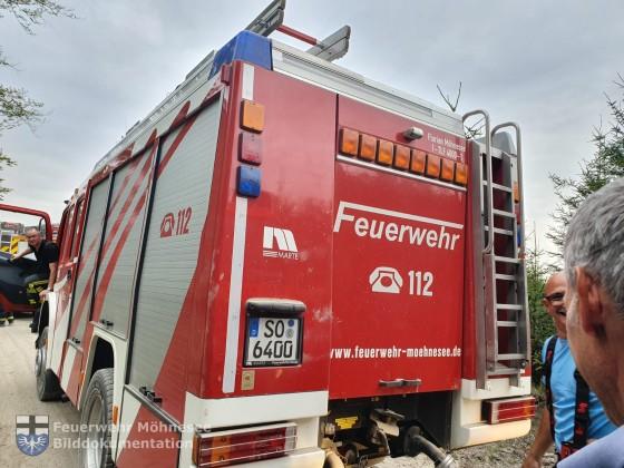 Brand 3 - Waldbrand | 10.07.19