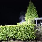 Brand 2 - Gartenhütte | 26.03.18