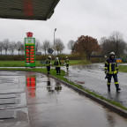 Öl/Benzin auf Straße | 20.11.17