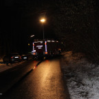 TH 1 - Baum droht auf Straße zu fallen   19.01.18