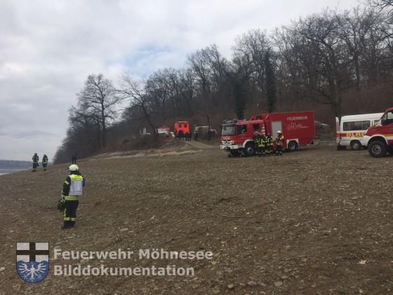 TH 1 - Auto im Möhnesee versunken | 16.02.17