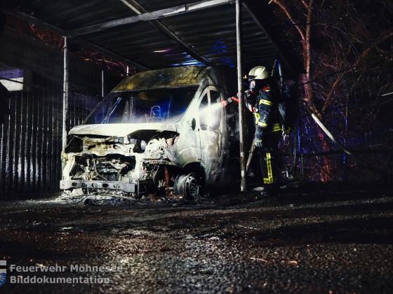Brand 2 - Wohnmobil/Carport | 19.02.20
