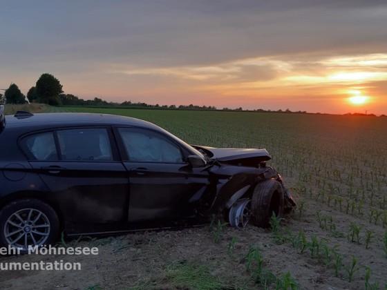 MANV I - Verkehrsunfall | 14.06.19