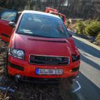 Foto: Daniel Schröder | TH 1 - Verkehrsunfall | 04.04.20