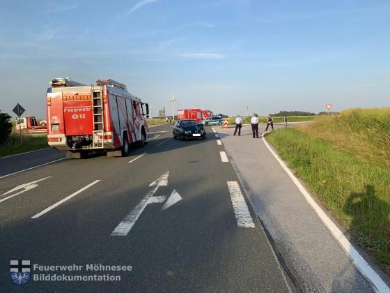 MANV I - Verkehrsunfall   25.06.19