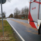 Öl/Benzin auf Straße | 08.12.19